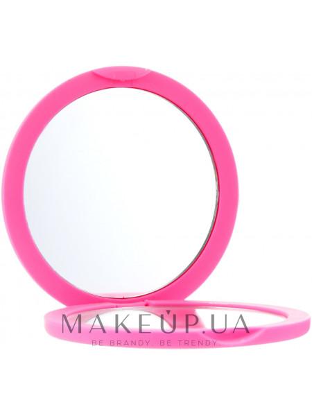 Зеркало косметическое круглое, 85543, розовое
