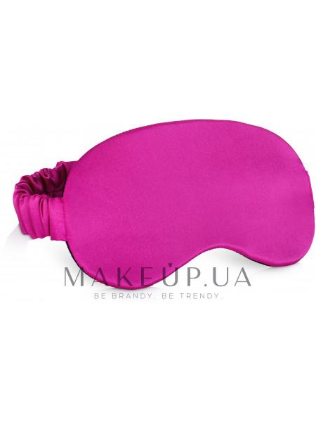 Маска для сна, розовая фуксия