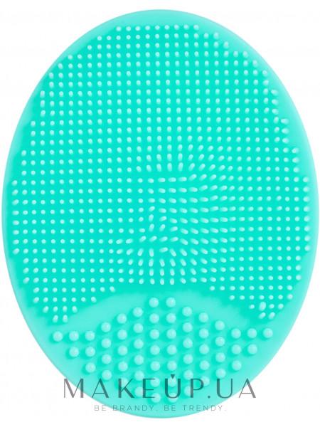Спонж силиконовый для умывания, pf-60, бирюзовый