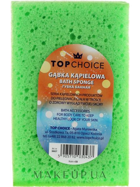 Губка банная 30437, зеленая