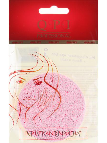 Спонж для умывания, qs-422, розовый