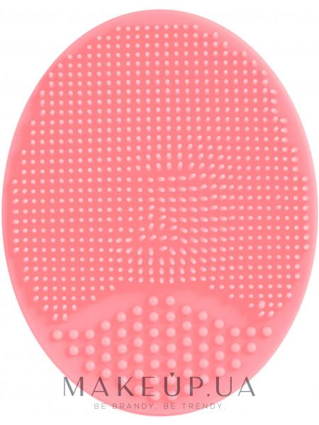 Силиконовый спонж для умывания, pf-60, темно-розовый