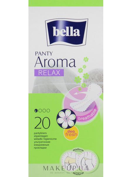 Прокладки panty aroma relax, 20 шт