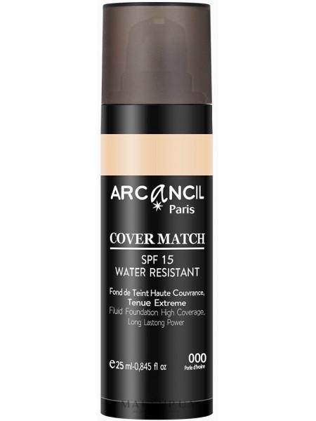 Arcancil paris cover match foundation spf 15