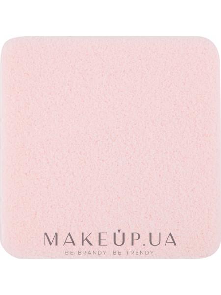 Спонж для макияжа косметический, s-041, прямоугольный розовый