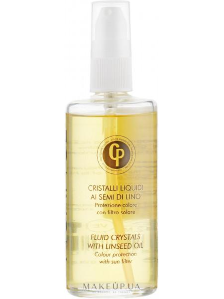 Жидкие кристаллы для волос с маслом семени льна и уф-фильтром