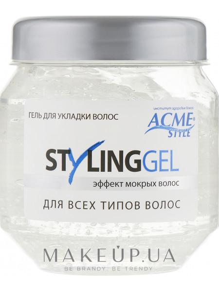 Гель для укладки волос эффект мокрых волос acme-style styling gel