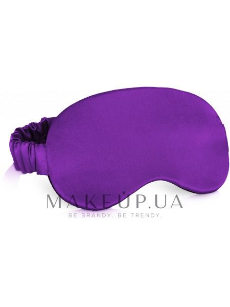 Маска для сна, фиолетовая