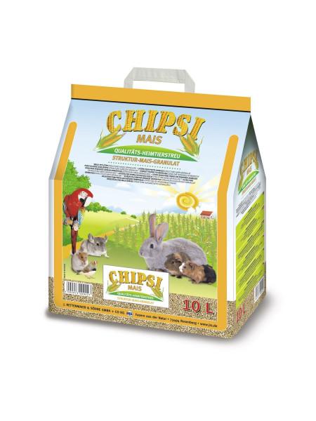 Гигиенический наполнитель Chipsi «Mais» 10 л (кукурузный)