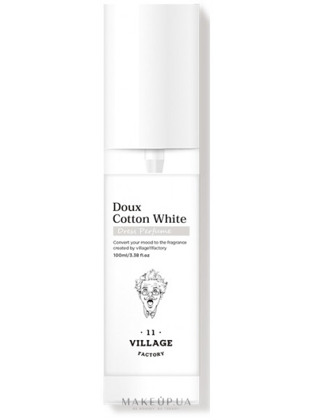 Village 11 factory dress perfume doux cotton white