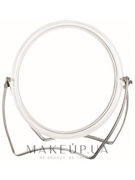 Двустороннее зеркало на металлической двойной ножке, 507649