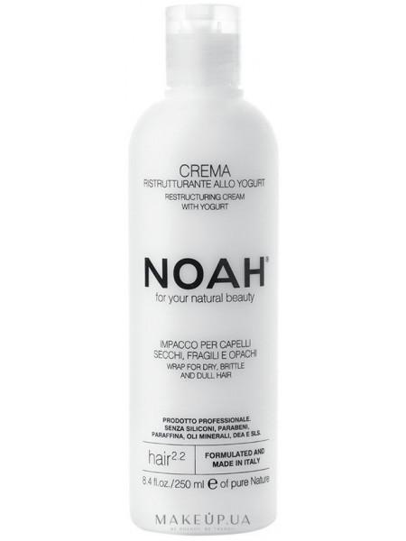 Реструктурирующий крем для волос с йогуртом