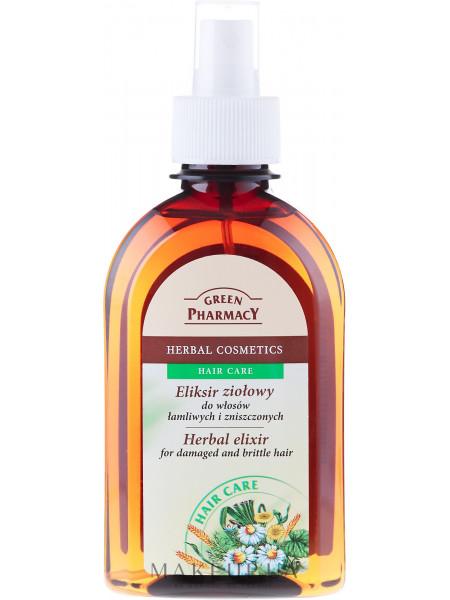 Травяной эликсир для волос