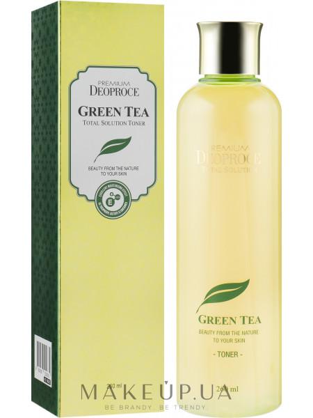 Увлажняющий тонер для лица с зеленым чаем