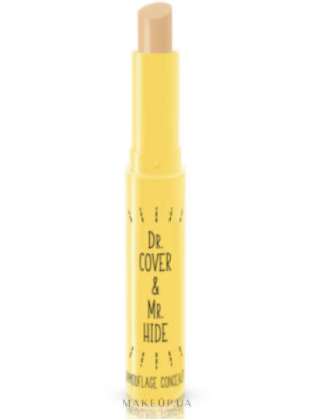 Virtual dr. cover & mr. hide camouflage concealer