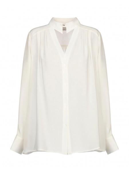 Однотонные рубашки и блузки
