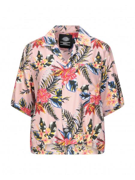 Рубашки и блузки с цветочным рисунком