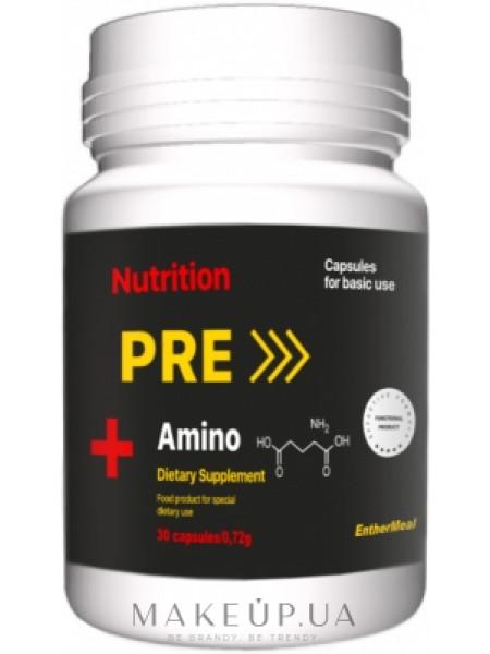 Тонизирующая добавка pre amino+ в капсулах