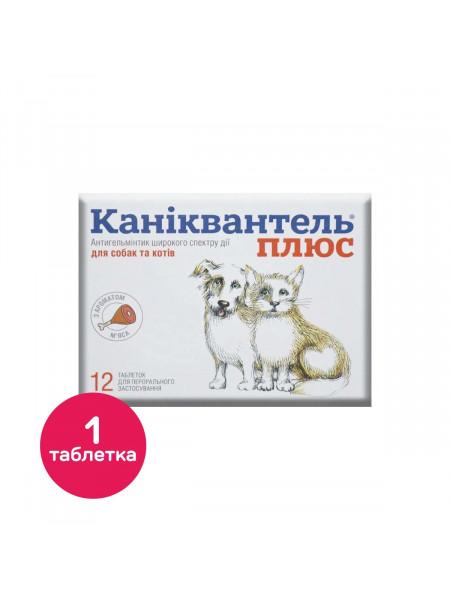 Таблетки для кошек и собак Haupt Pharma «Каниквантель Плюс» на 10 кг, 1 таблетка (для лечения и профилактики гельминтозов)