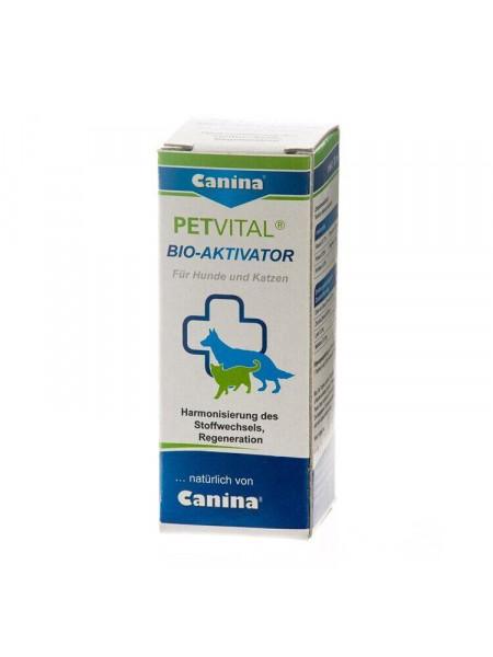 Добавка для кошек и собак Canina «PETVITAL Bio-Aktivator» 20 мл (для иммунитета)