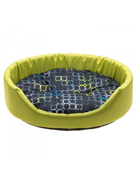 Лежак Comfy «Betty» 46 x 38 x 13 см (зелёный) - cts
