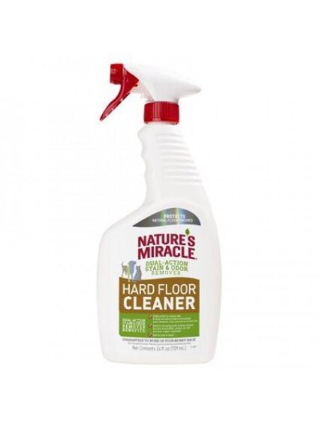 Спрей-Устранитель Nature's Miracle «Stain & Odor Remover. Hard Floor Cleaner» для удаления пятен и запахов на полах 709 мл - 680402 - dgs