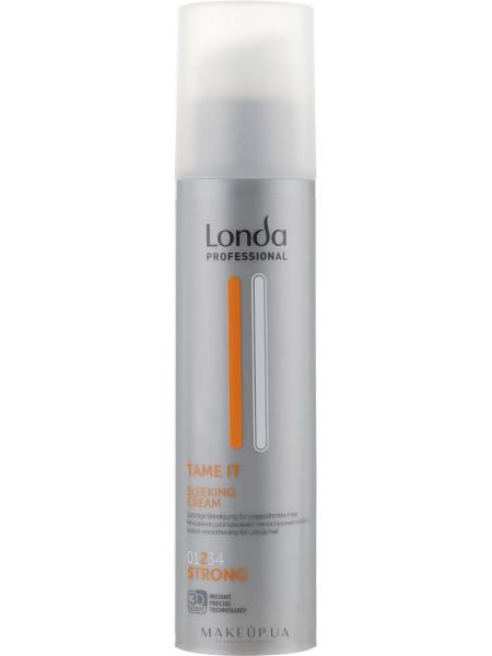 Разглаживающий крем для волос сильной фиксации