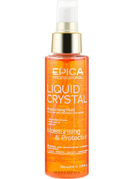 Флюид для увлажнения и защиты сухих волос с маслом макадамии и лецитином