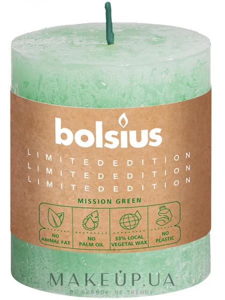 Свеча цилиндрическая rustic water, 8068 мм