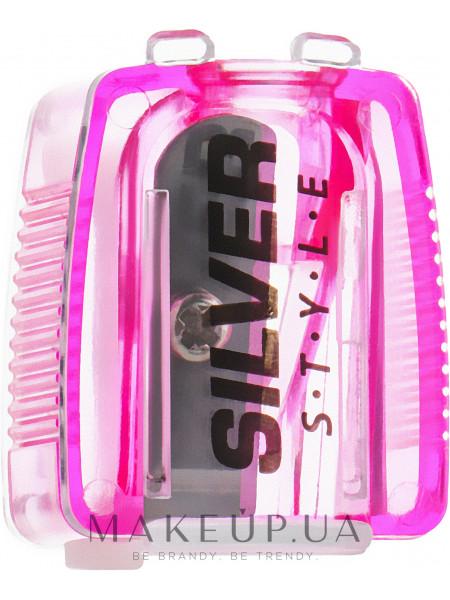 Точилка для карандашей, розовая
