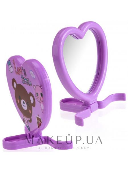 Компактное зеркало, cm-90, фиолетовое