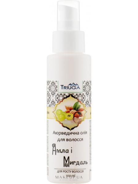 Аюрведическое масло для волос «амла и миндаль»