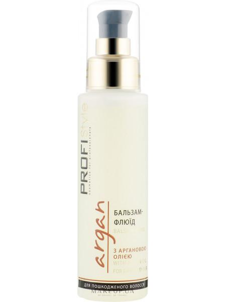 Бальзам-Флюид с маслом арганы для поврежденных волос