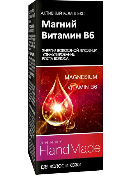 Магний + витамин в6 для волос и кожи головы