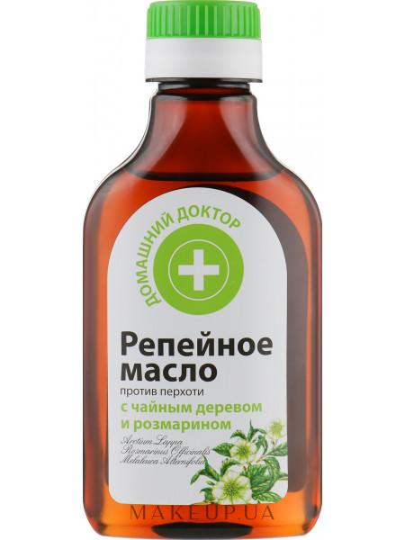 Репейное масло против перхоти
