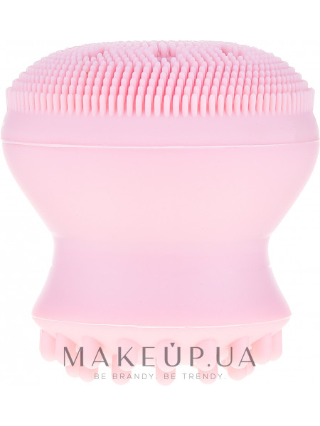 Щетка для чистки лица, 6039, розовая
