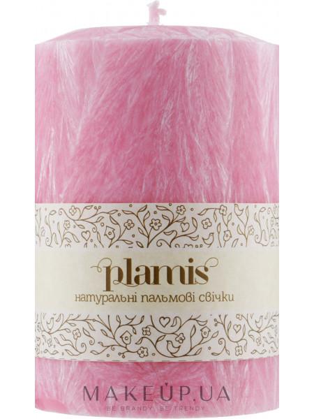 Декоративная пальмовая свеча, розовая