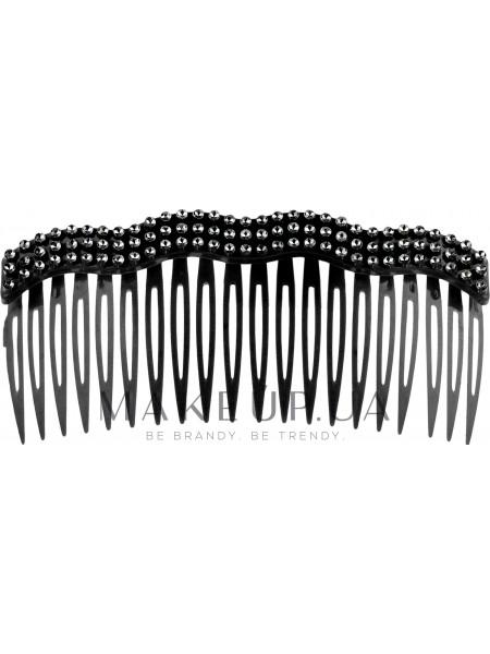 Заколка-Гребешок для волос, черная
