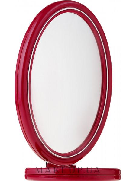 Зеркало двустороннее, 9503, красное