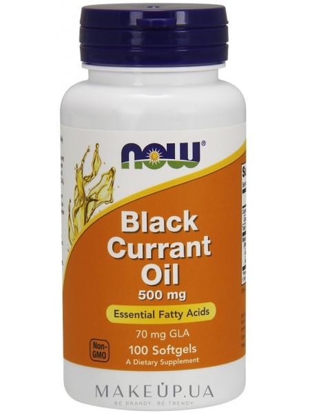 Масло из семян черной смородины, 500 мг