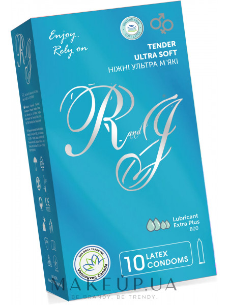 Презервативы нежные ультра мягкие , 10шт