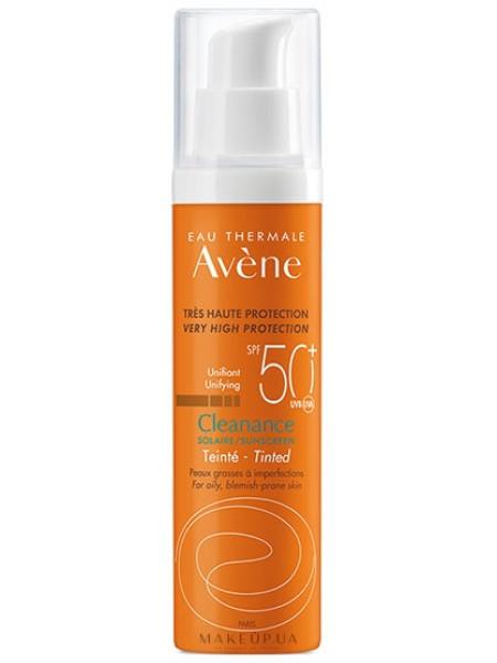 Солнцезащитный тонирующий крем для жирной и проблемной кожи