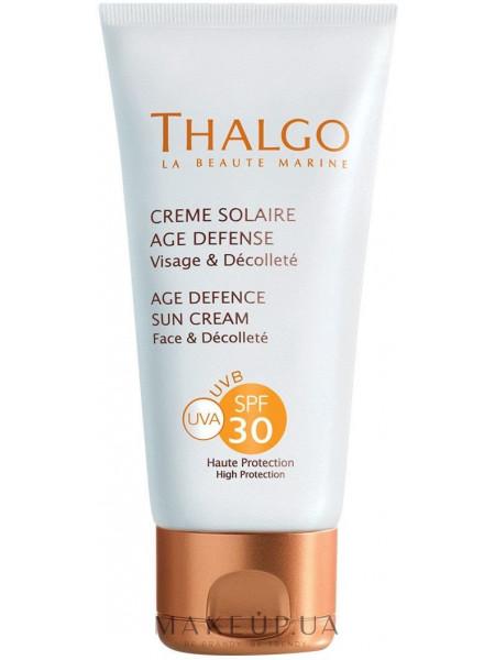 Солнцезащитный крем предупреждающий старение кожи