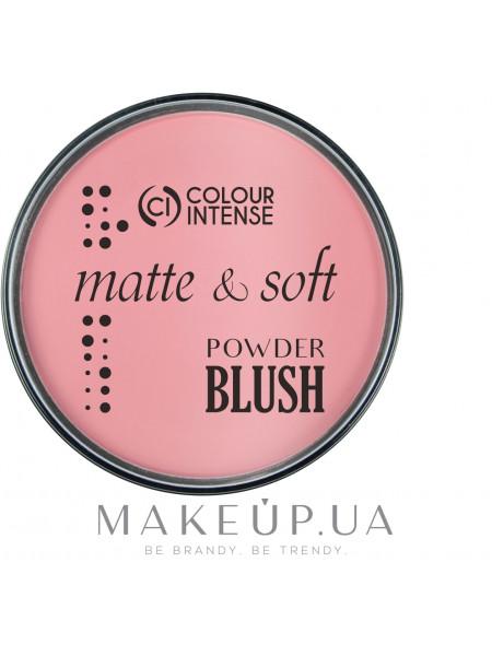Colour intense blush cover skin