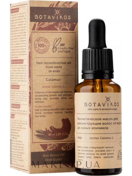Косметическое масло для реконструкции волос от корней до самых кончиков