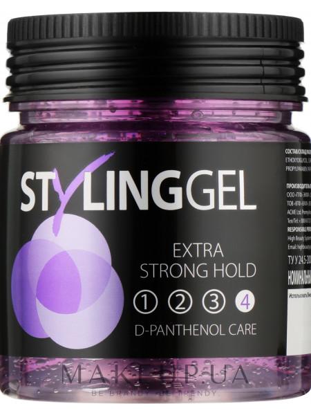 Гель для укладки волос сверхсильной фиксации acme-style styling gel