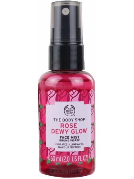 Спрей для лица с экстрактом розы