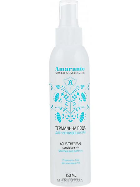 Термальная вода для чувствительной кожи амаранте