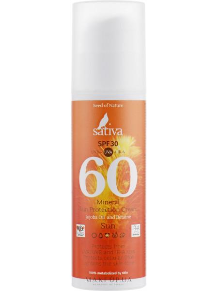 Крем для лица, солнцезащитный №60