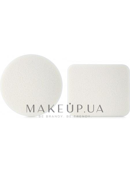 Набор прорезиненных спонжей для макияжа, 2шт., qmh-117